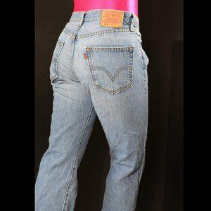 Levi's 501 Jeans Light Wash High Waist Size 29 30